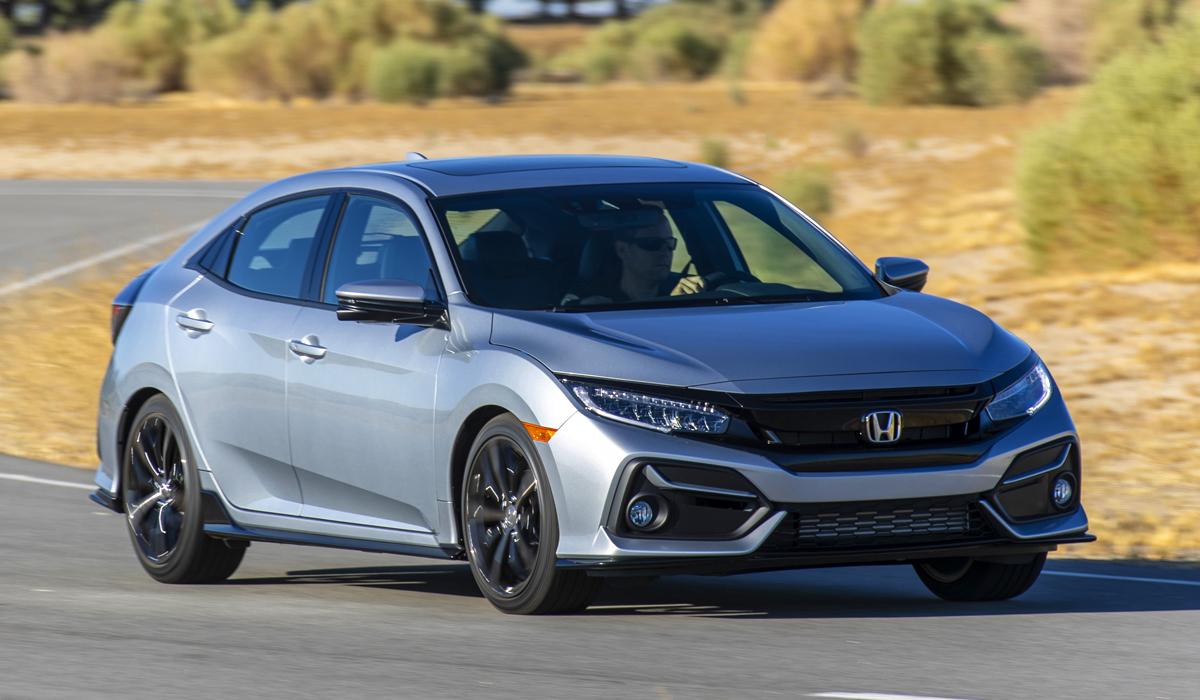Хонда обновила хетчбэк Хонда Civic 2020