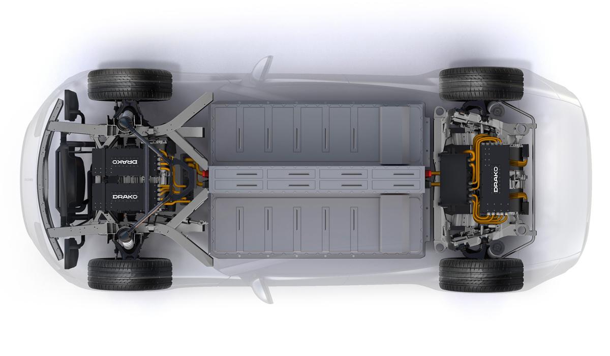 Суперседан Drako GTE призван поразить управляемостью