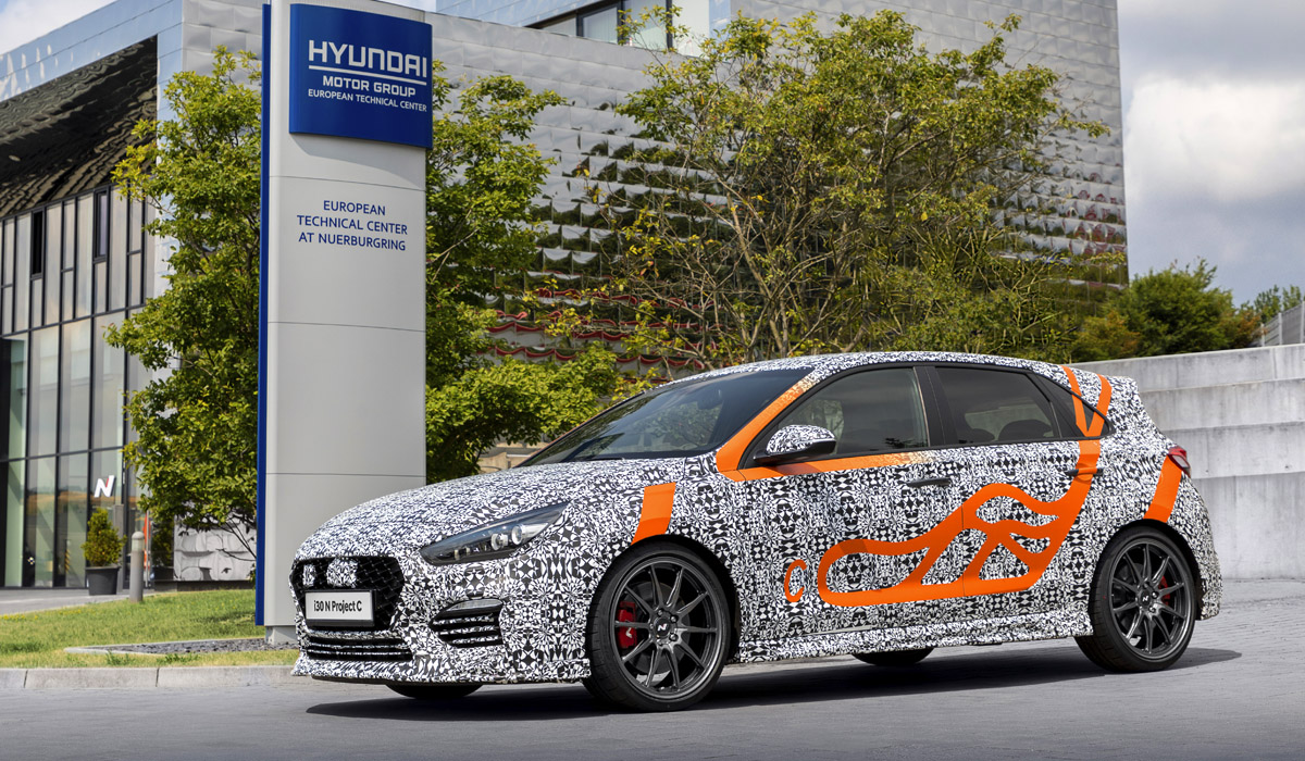 Хот-хэтч Hyundai i30 N Project C выйдет ограниченным тиражом