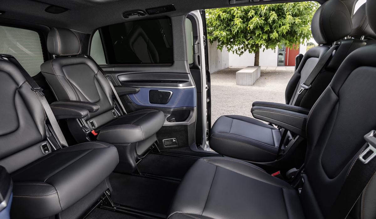 Электрический минивэн Mercedes EQV: серийная версия