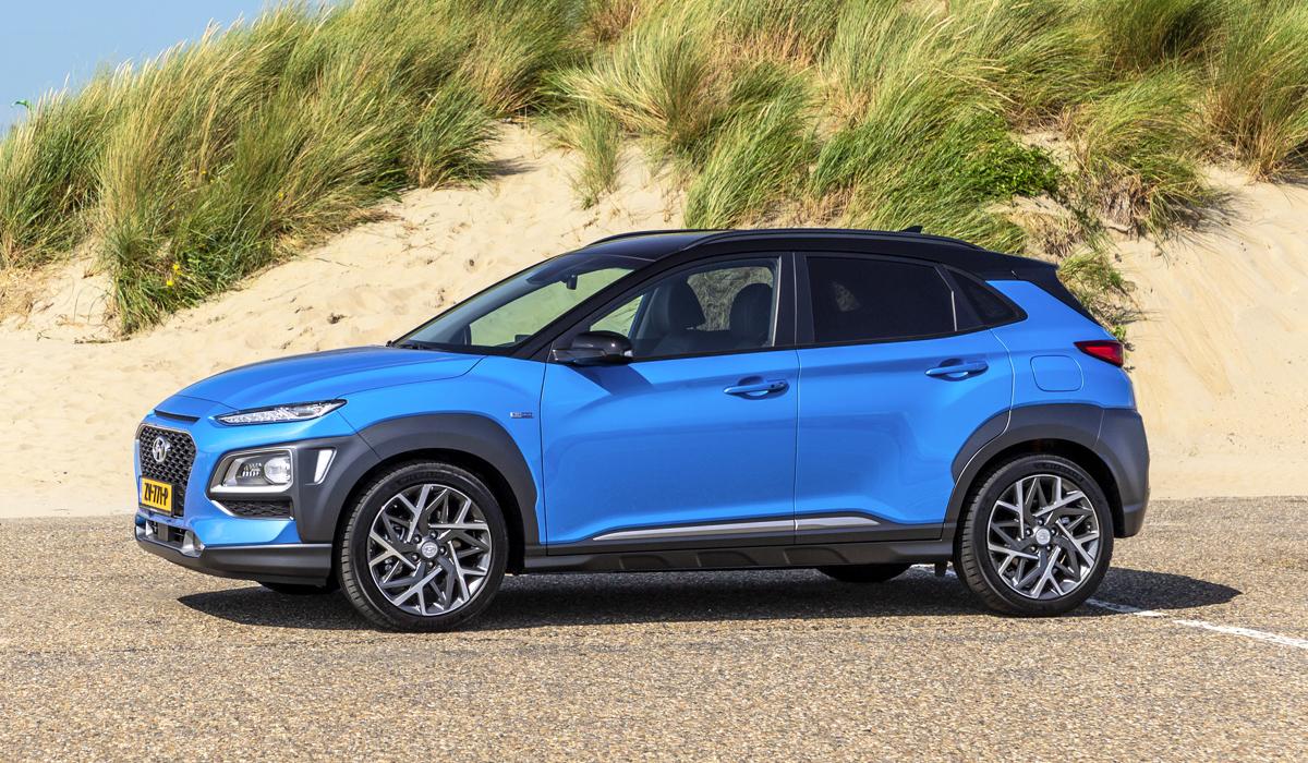 У паркетника Hyundai Kona появилась гибридная версия