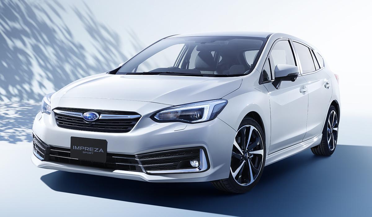 Хэтчбек и седан Subaru Impreza: легкая модернизация
