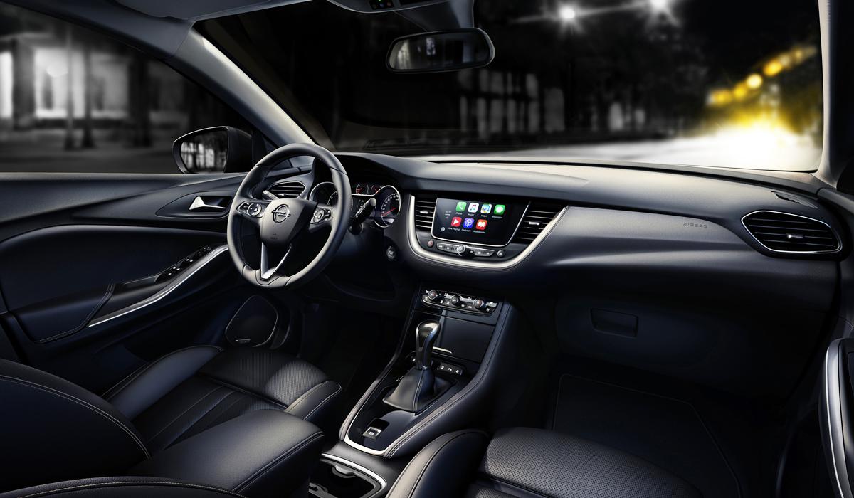 Кроссовер Opel Grandland X: объявлены цены в России