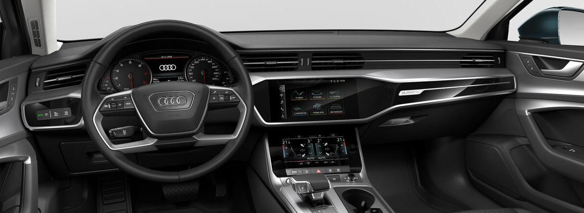 Audi A6 в России: появились базовые версии с передним приводом