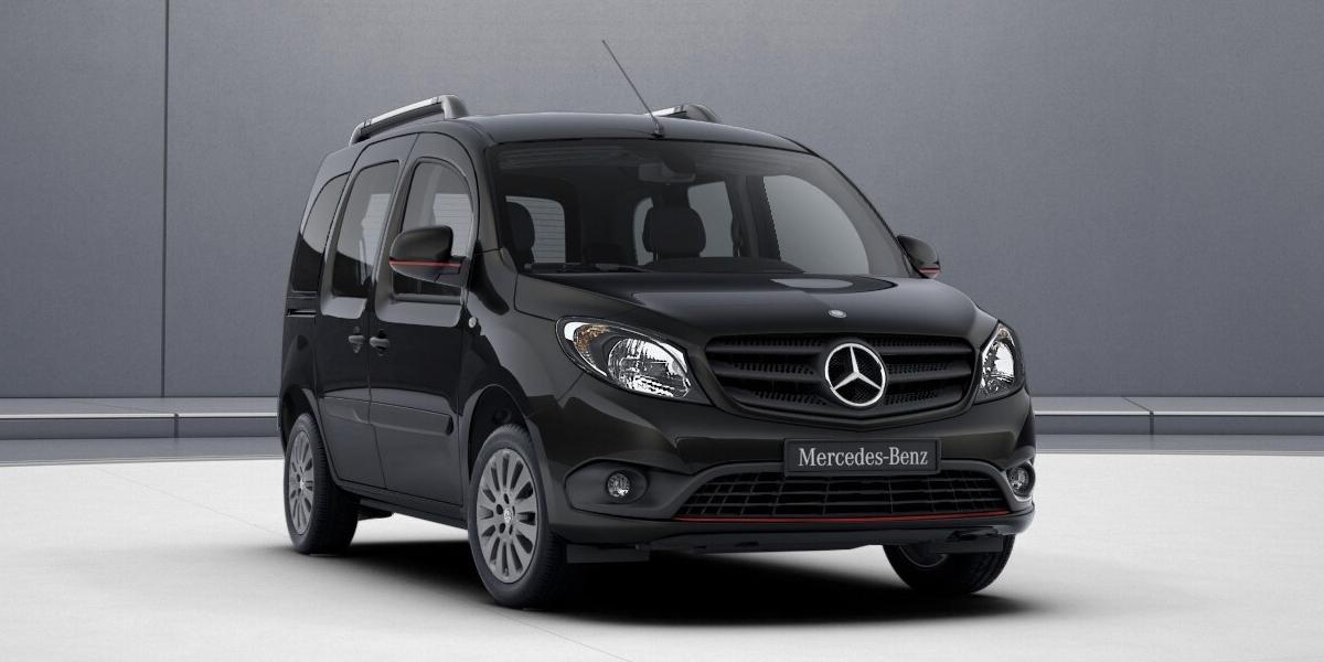 Mercedes Citan Tourer получил новые дизель истайлинг-пакет