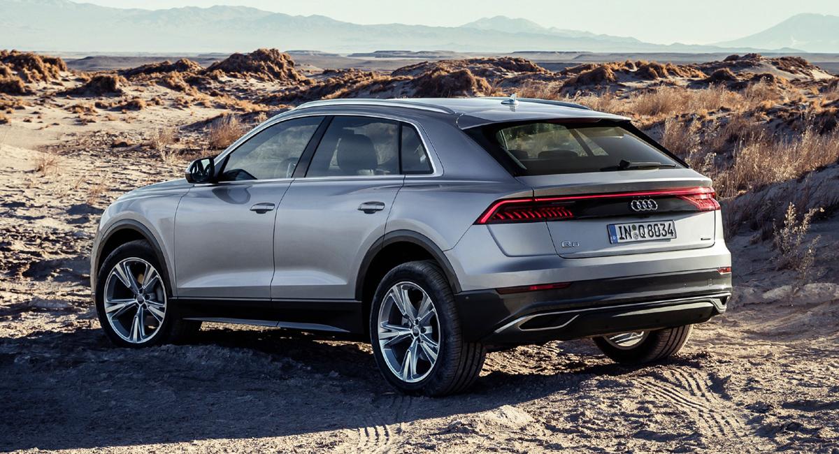 В России появится дизельный Audi Q8