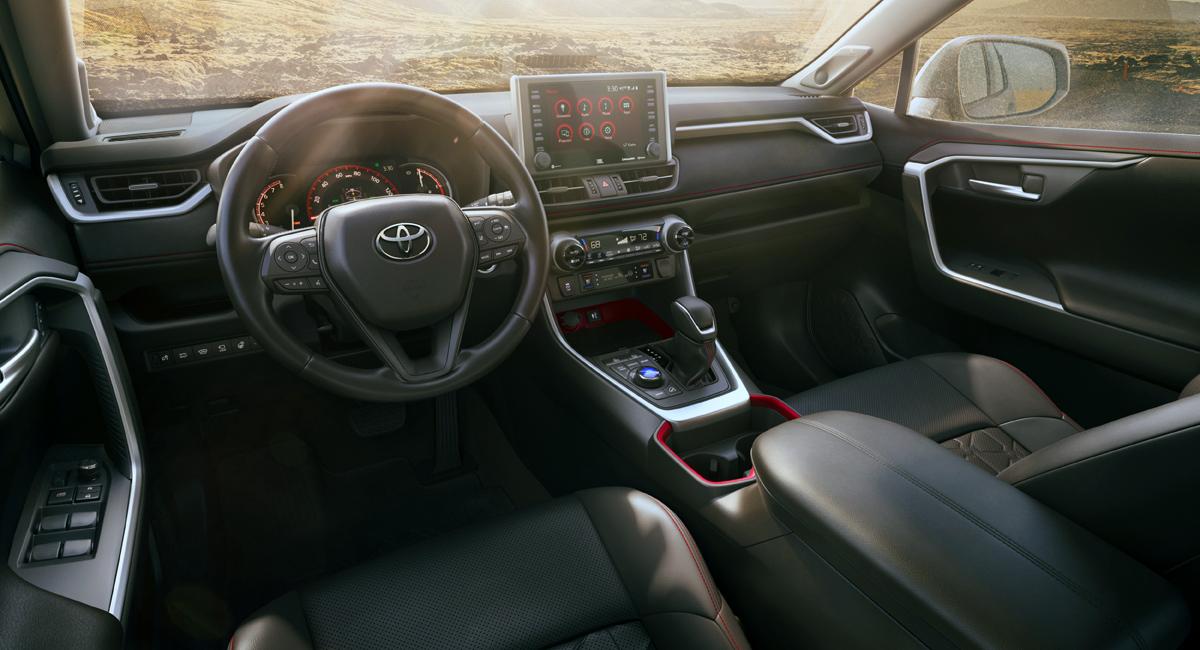 Кроссовер Toyota RAV4 обзавелся версией TRD Off-Road