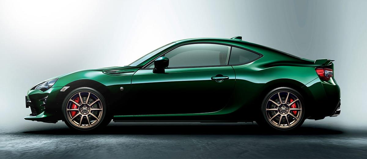Купе Toyota 86 GT British Green Limited: английская роскошь