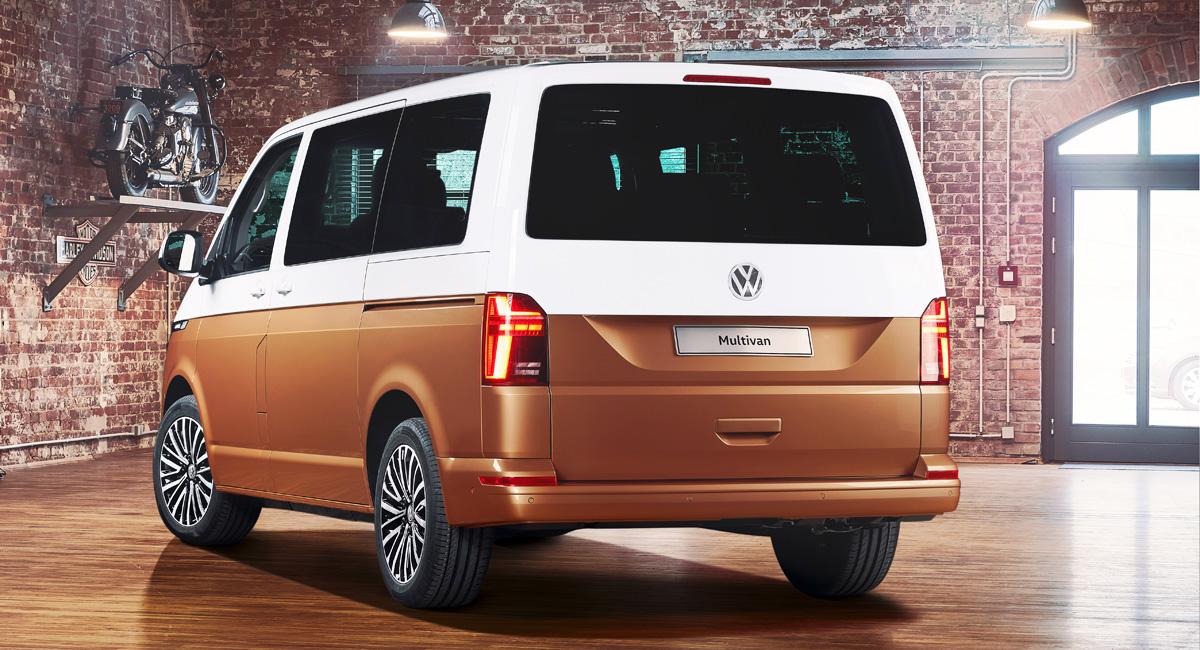 Volkswagen Multivan: первенец обновленного семейства T6.1