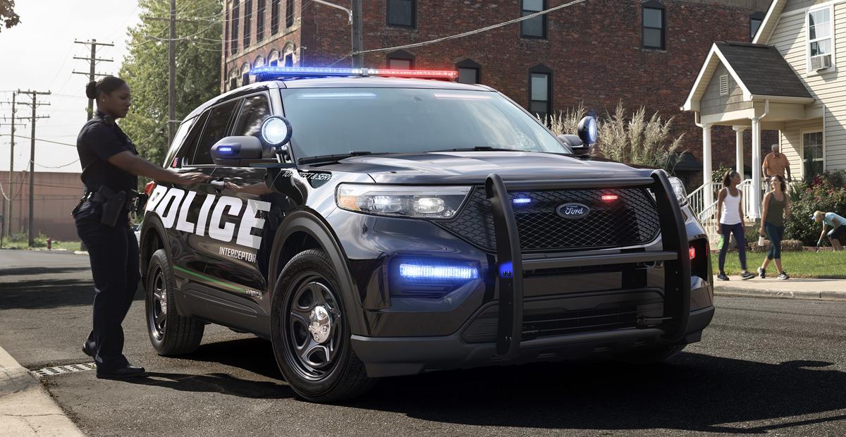 Новый Ford Explorer дебютировал в полицейской форме