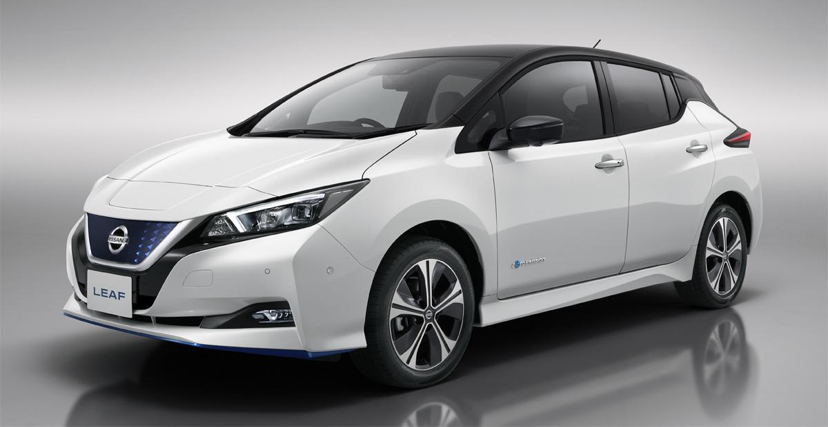 Представлен Nissan Leaf e+ с большой батареей