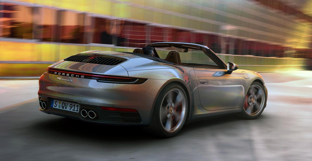Porsche 911 серии 992 превратился в кабриолет