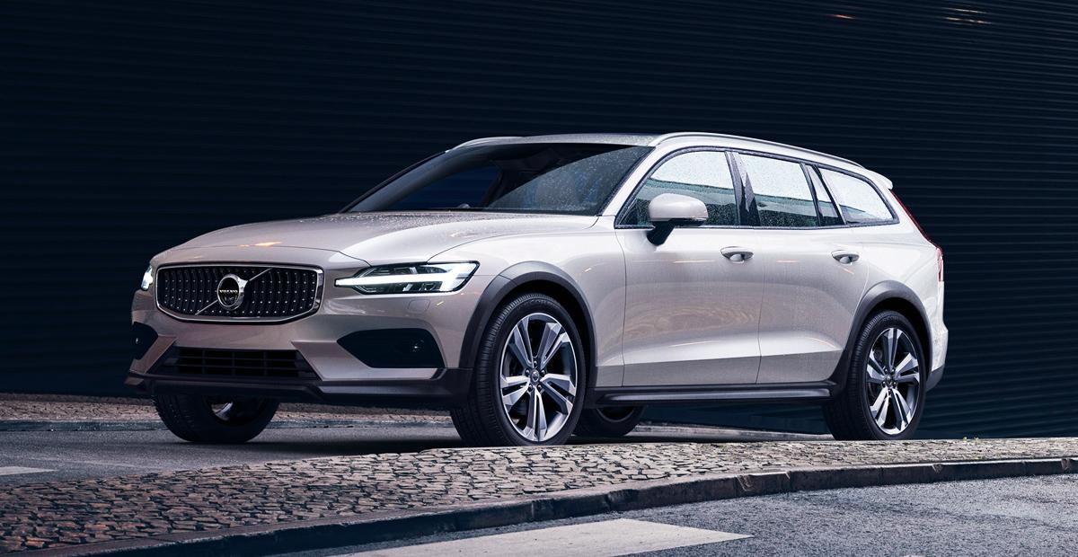 Новый универсал Volvo V60 легализован в России