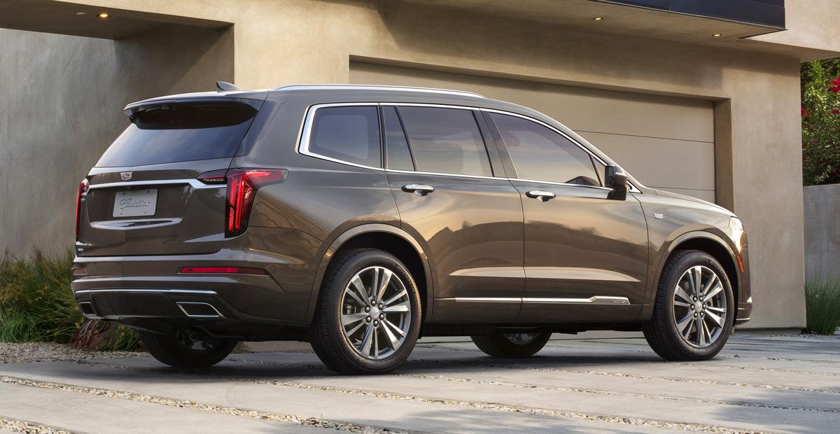 Presentó el crossover Cadillac XT6 con tres filas de asientos - Autoreview