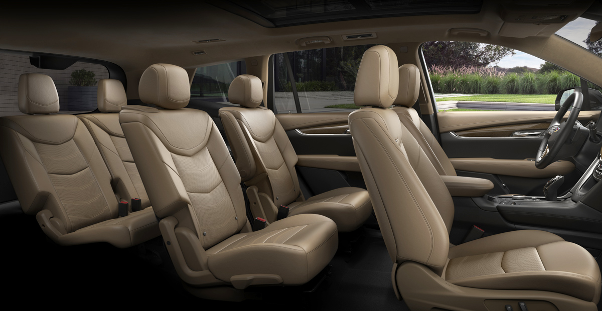 Cadillac показал соперника Audi Q7 — полноразмерный кроссовер XT6