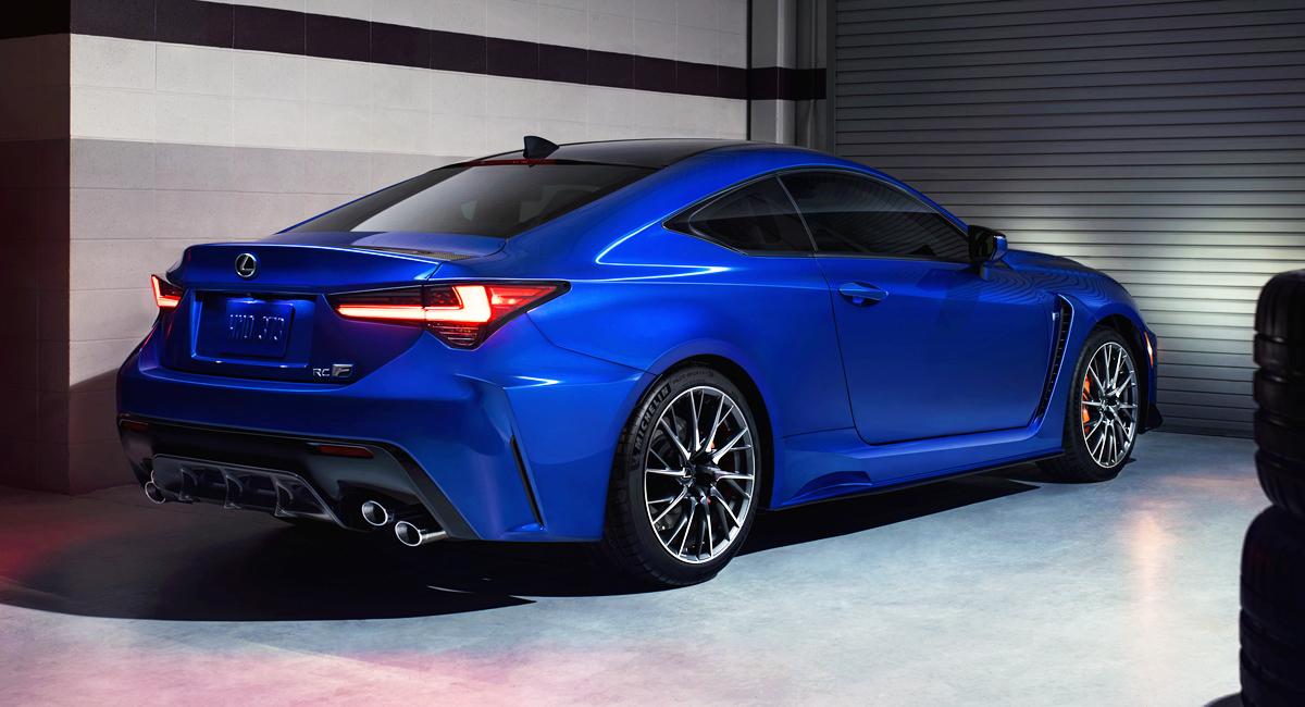 Купе Lexus RC F: модернизация и Track Edition