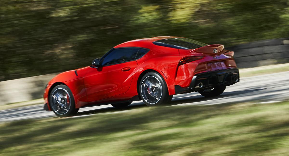 340 «лошадок» и4 секунды до«сотни»— Новая Тойота Supra