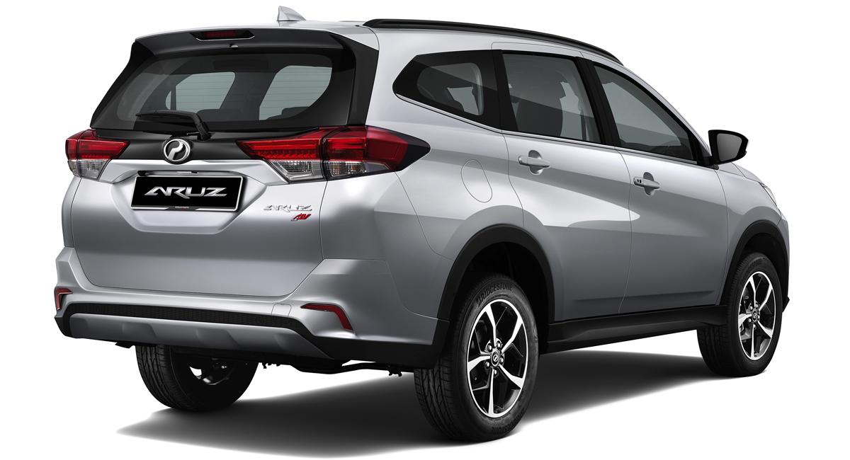 Представлен семиместный паркетник Perodua Aruz