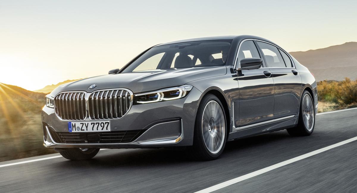 Обновленная «семерка» BMW пошла по следам моделей X5/X7