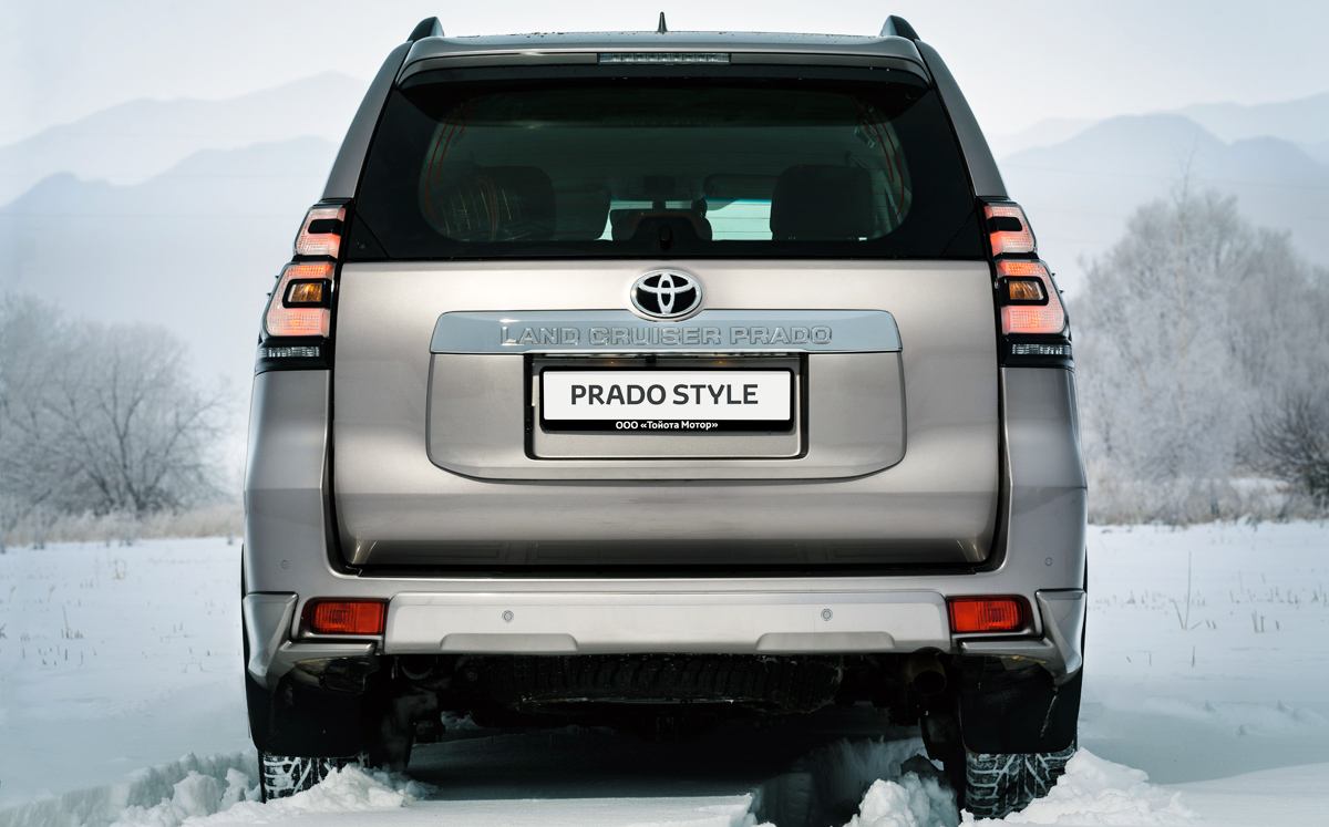 Внедорожник Toyota Land Cruiser Prado обзавелся новой версией Style