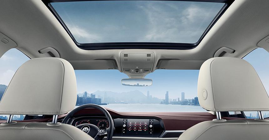 VW увеличили колесную базу вседане Sagitar обновленного поколения