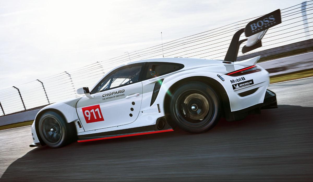 Среднемоторный Porsche 911 RSR обновлен на 95%