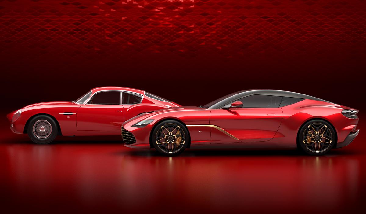 Юбилейный Aston Martin DBS GT Zagato: рассекречена внешность