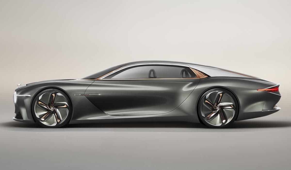 Bentley EXP 100 GT: подарок к вековому юбилею
