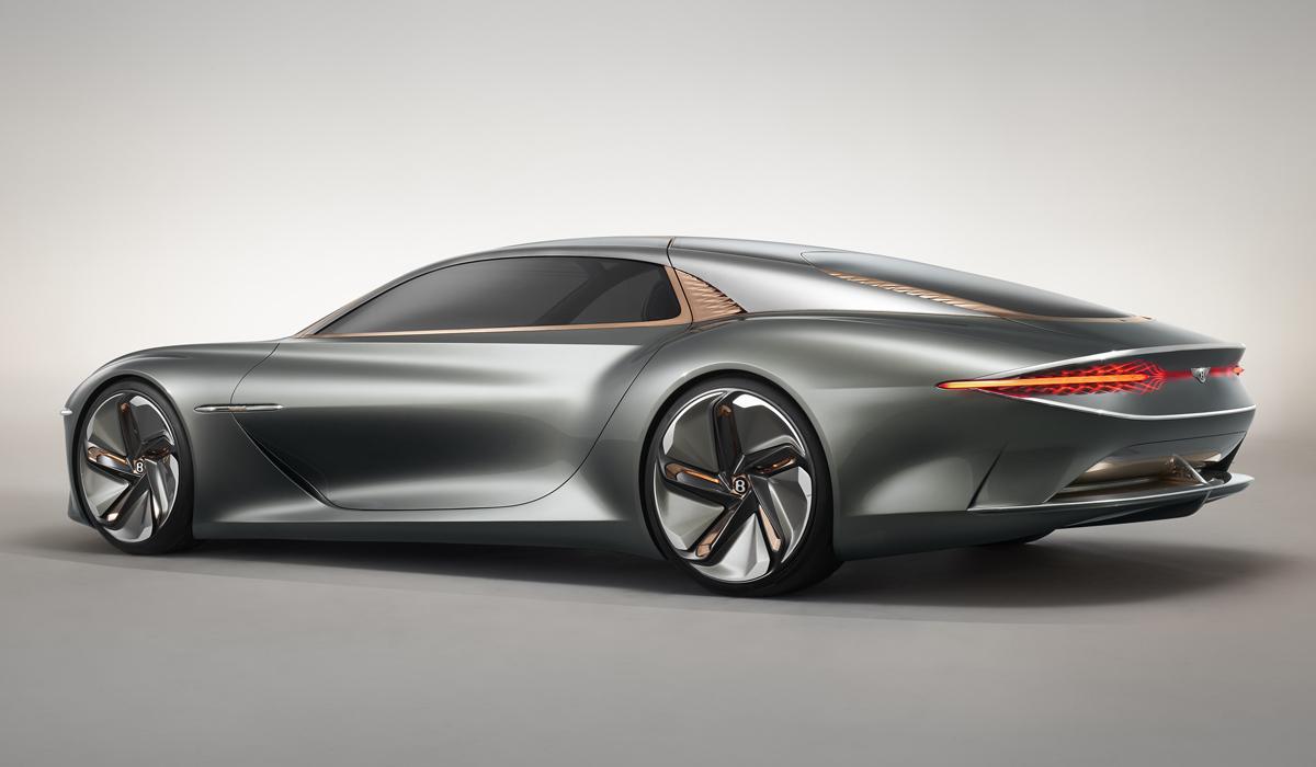Бентли представила юбилейный электрический концепткар EXP 100 GT