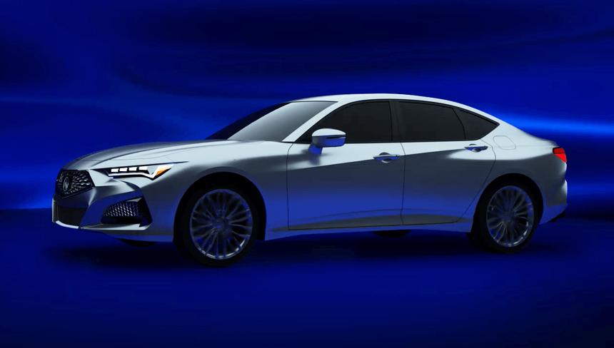 Будущие Acura MDX и TLX засветились в недрах медиасистемы