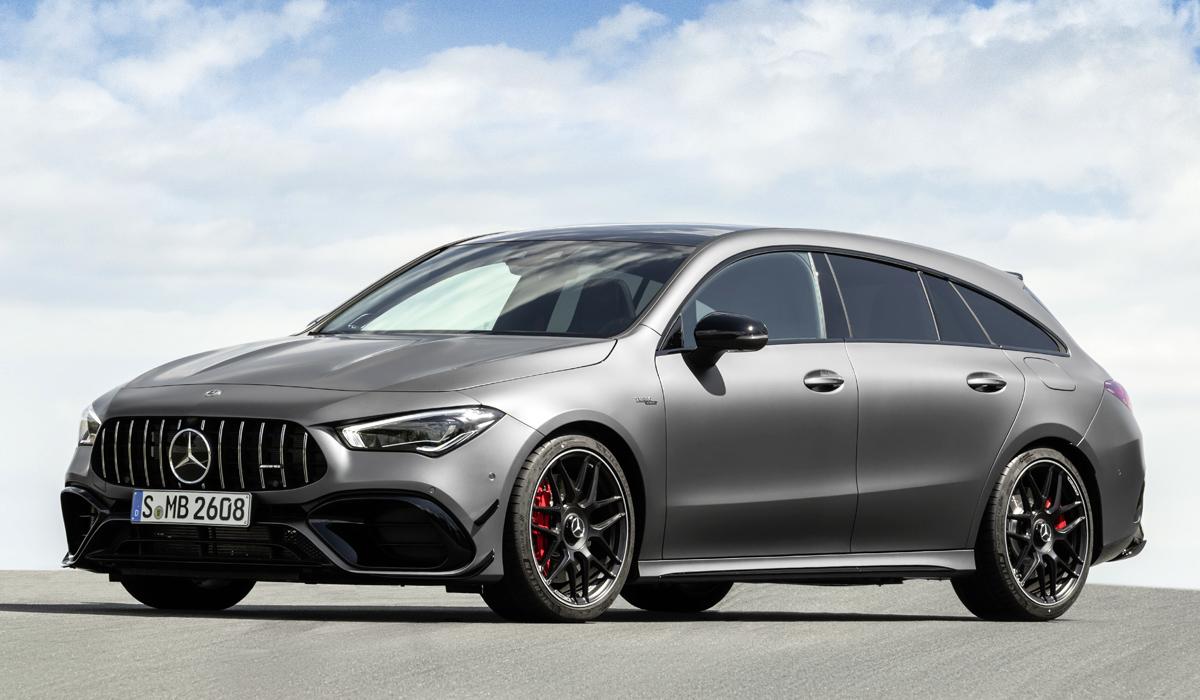 «Заряженный» Mercedes-AMG CLA 45 превратился в универсал