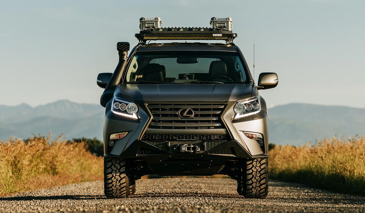 Внедорожник Lexus GXOR: концепт в честь сообщества фанатов
