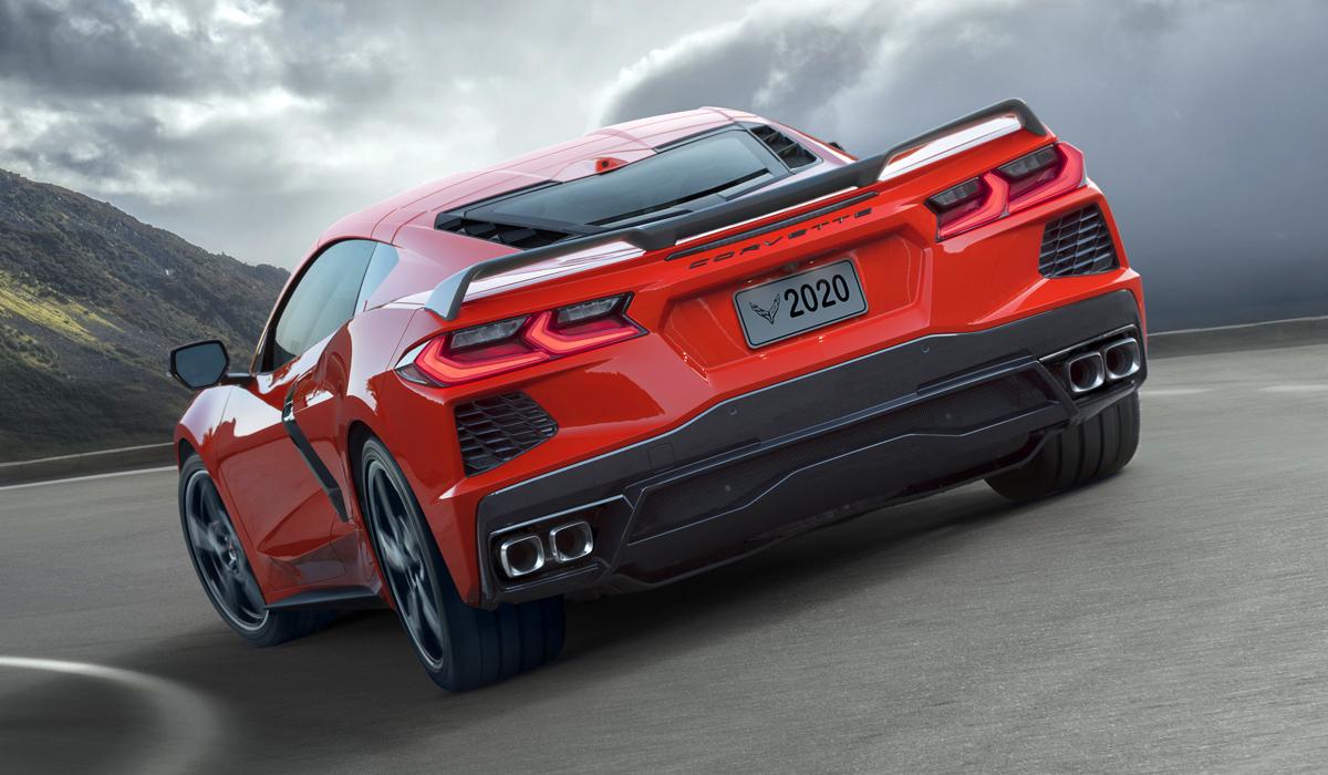 Шевроле продемонстрировал новый Corvette Stingray