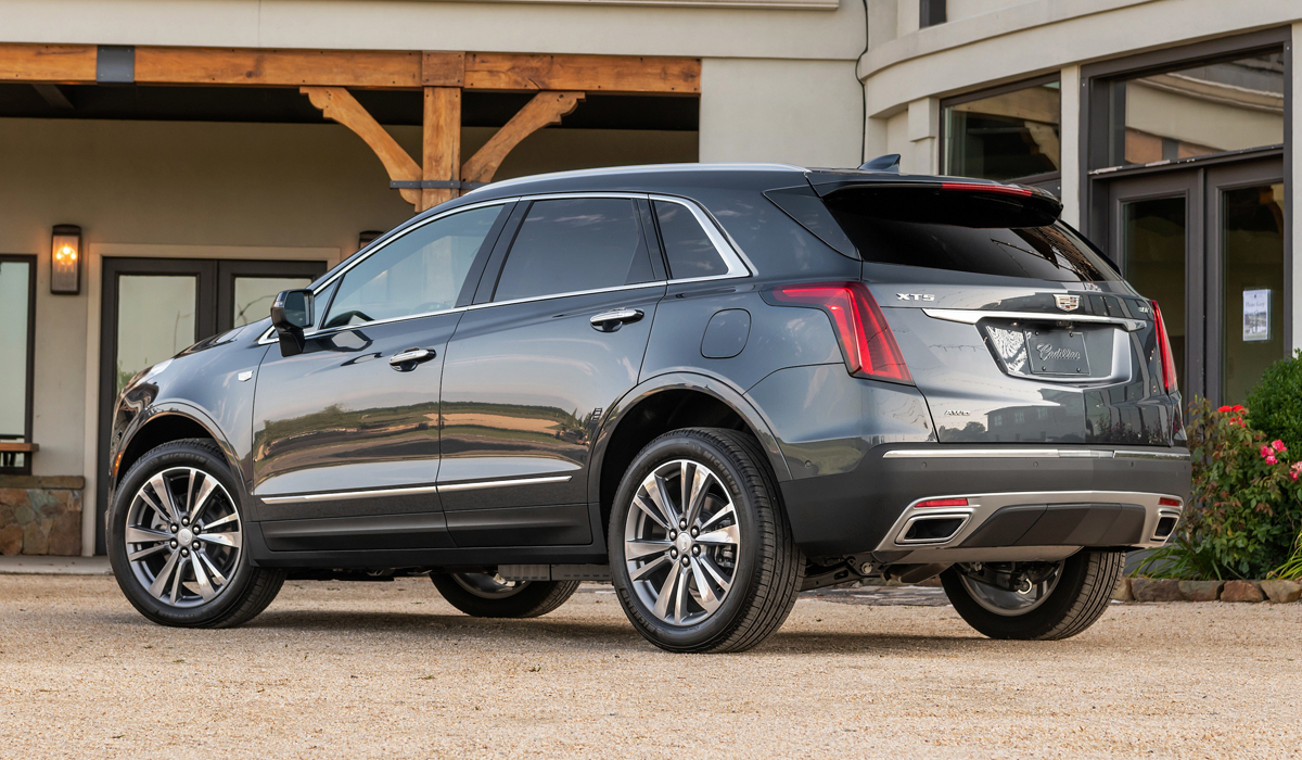 Американский Cadillac XT5 обновлен по образцу китайского