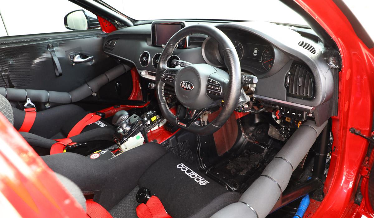 Kia Stinger GT420: спецверсия для трек-дней