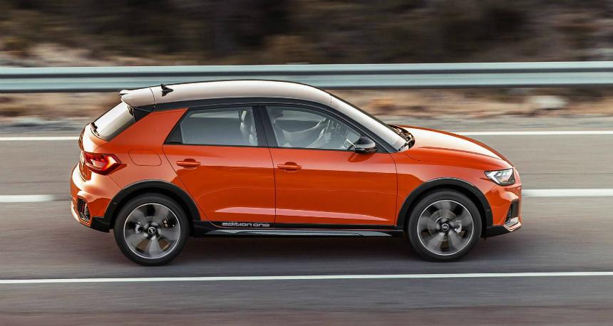 Представлен кросс-хэтч Audi A1 citycarver