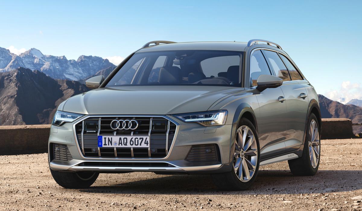 Представлен новый кросс-универсал Audi A6 Allroad