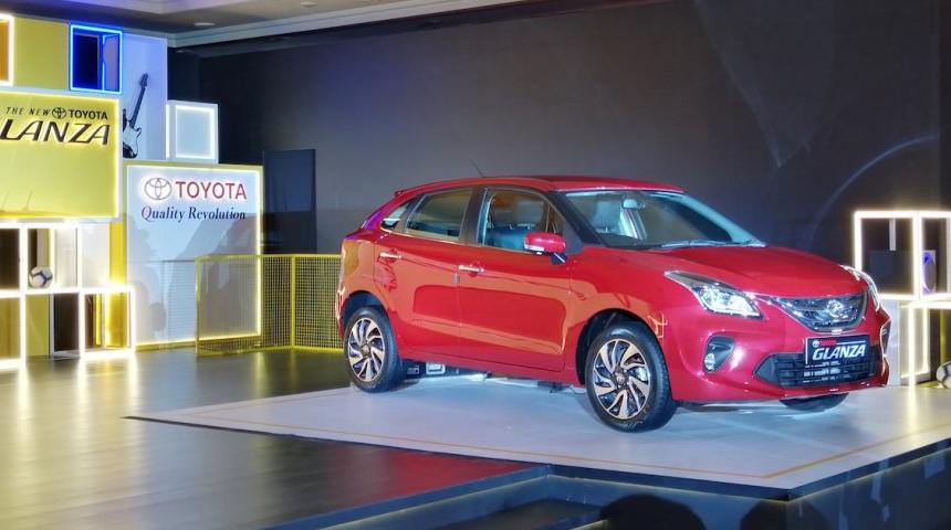 Suzuki Baleno превратился в хэтчбек Toyota Glanza