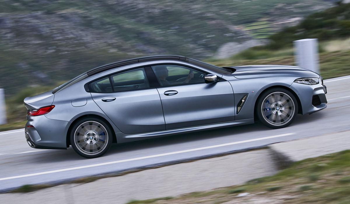 В семействе BMW восьмой серии появилось Gran Coupe