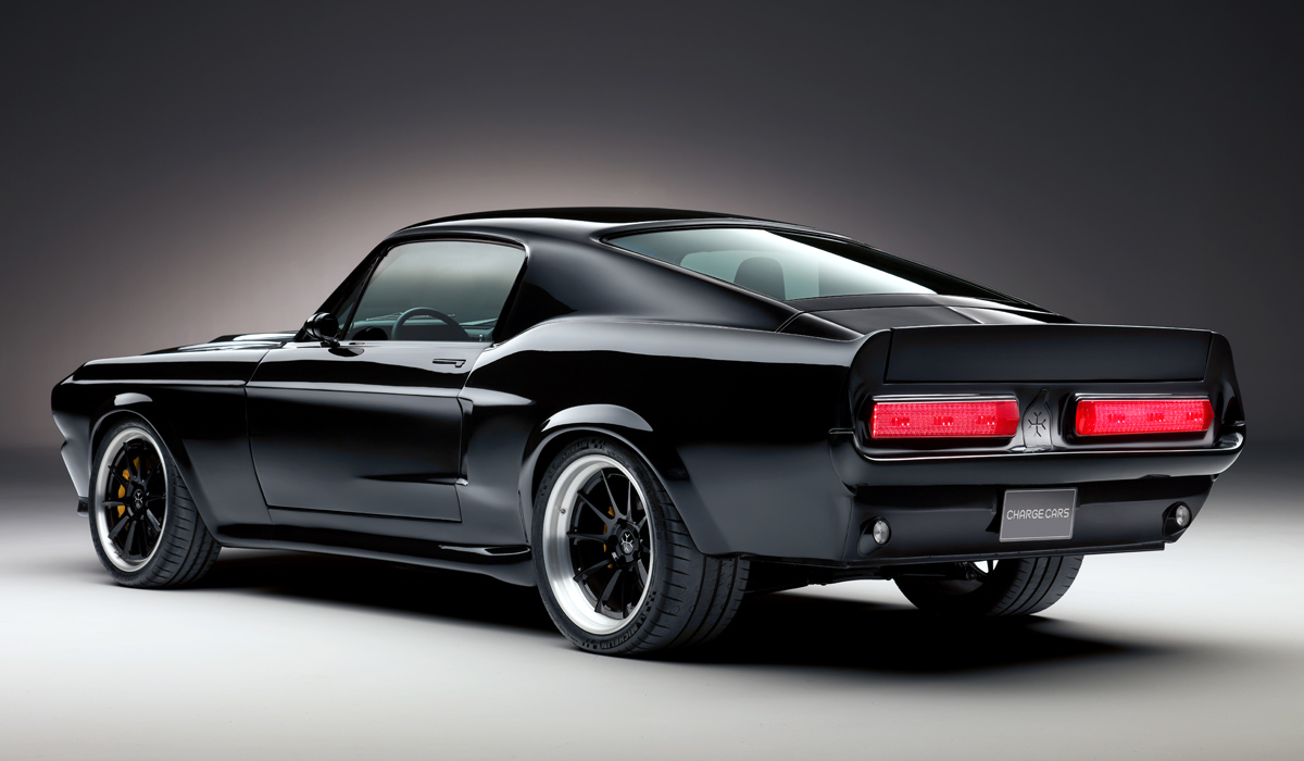 В Англии дебютировал Mustang c электрическим полным приводом