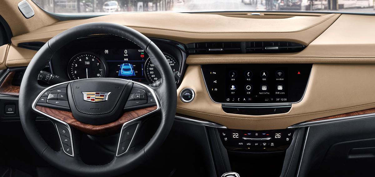 Кроссовер Cadillac XT5: рестайлинг и новый мотор