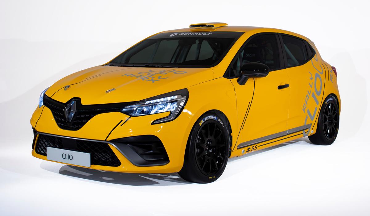 Гоночный Renault Clio предстал в трех версиях