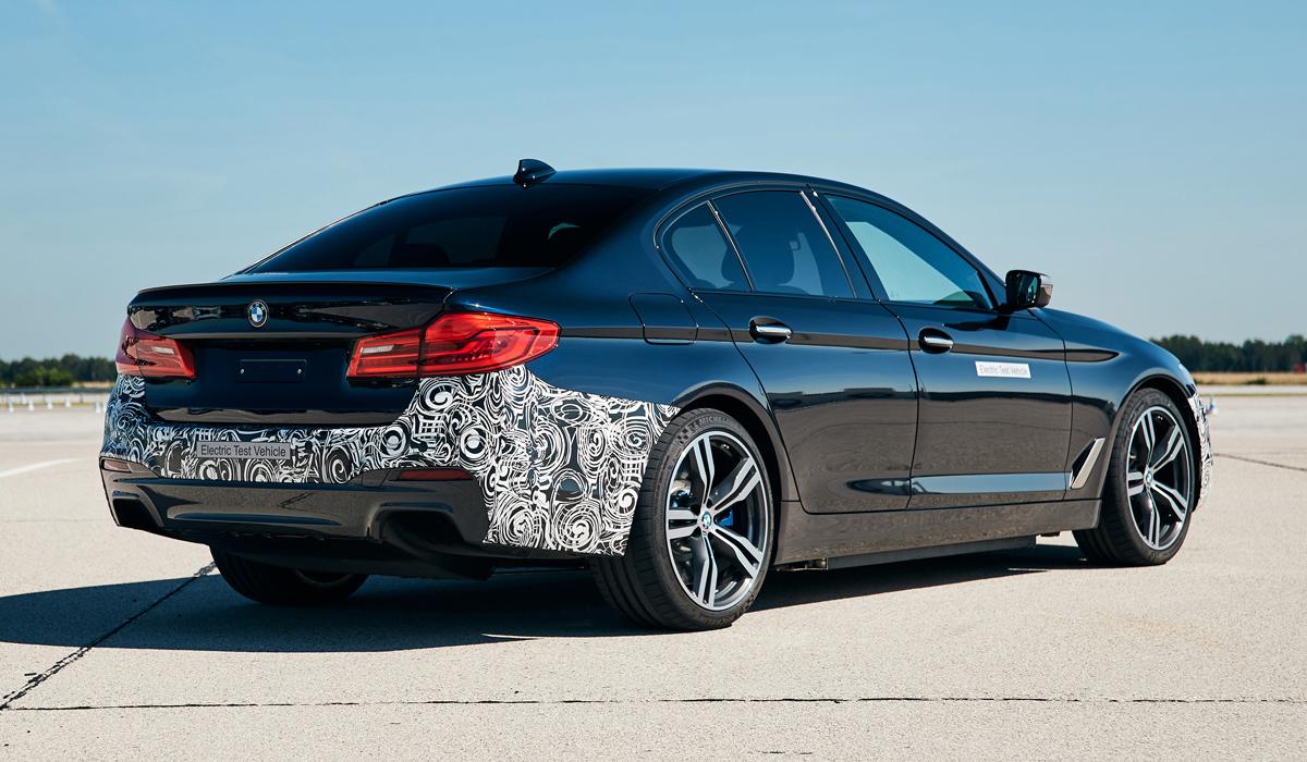 Планы BMW: 720-сильный электромобиль и автопилот