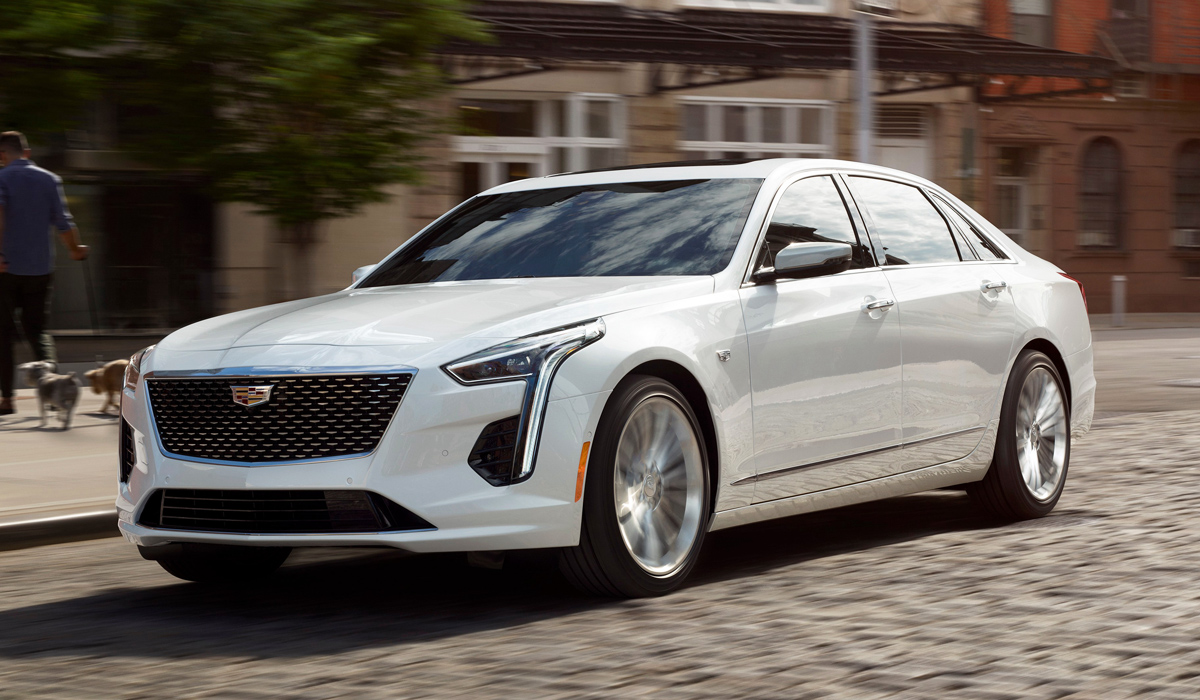 Обновленный Cadillac CT6 добрался до России