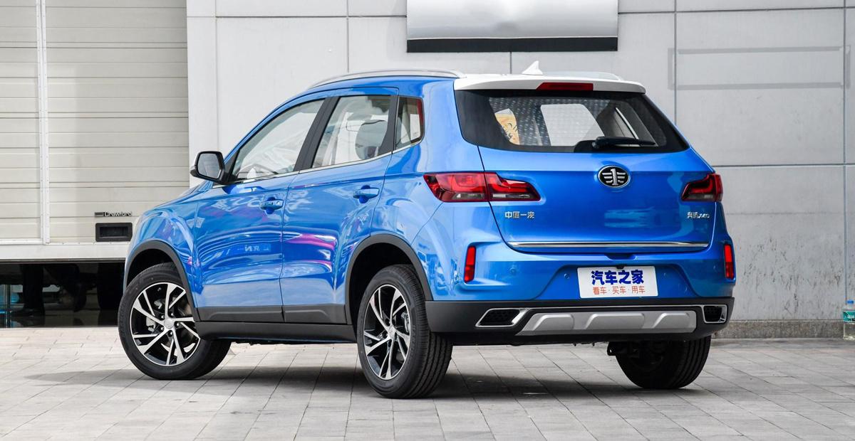 Паркетник FAW Besturn X40 выходит на российский рынок