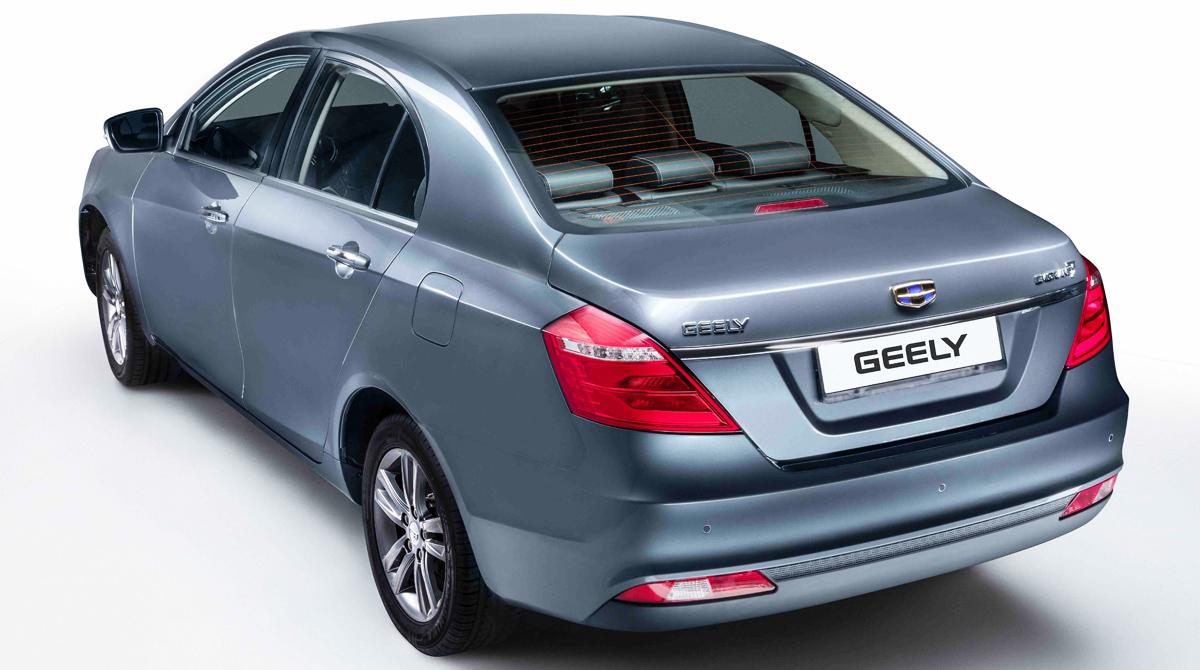 Обновленный седан Geely Emgrand 7 стал доступнее