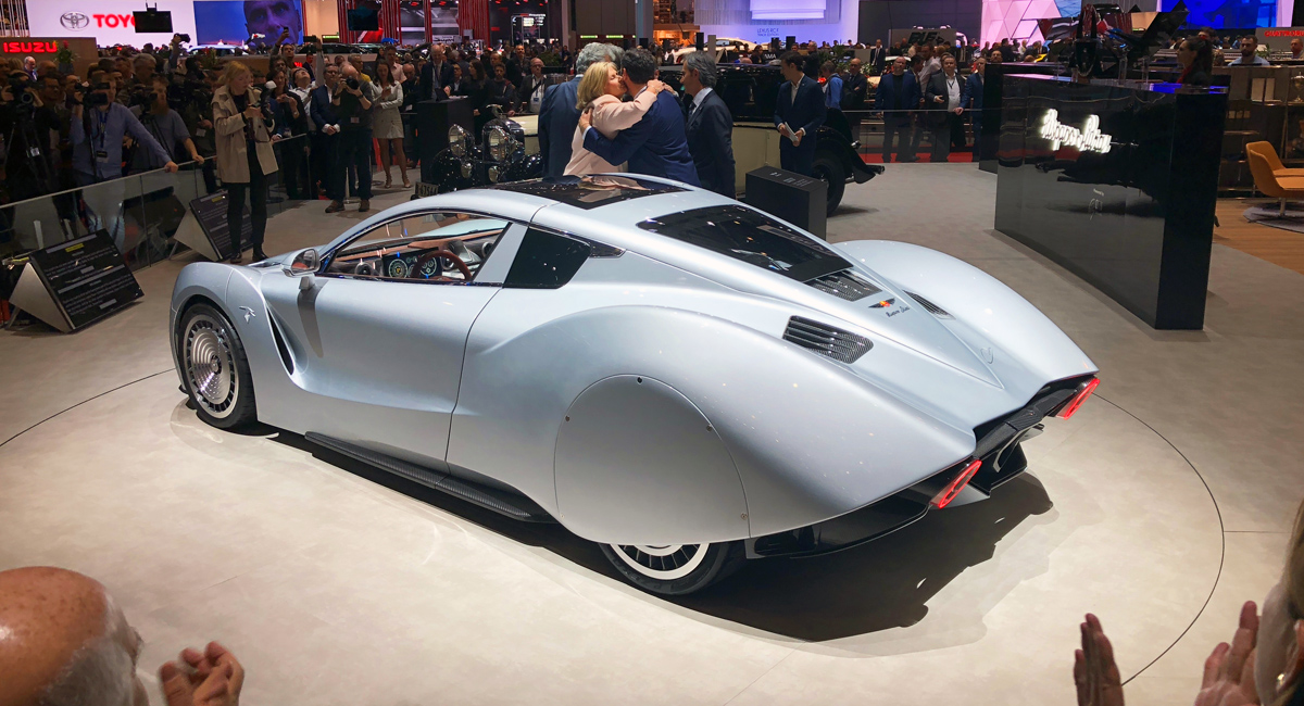 Возрождение: представлен гиперкар Hispano Suiza Carmen