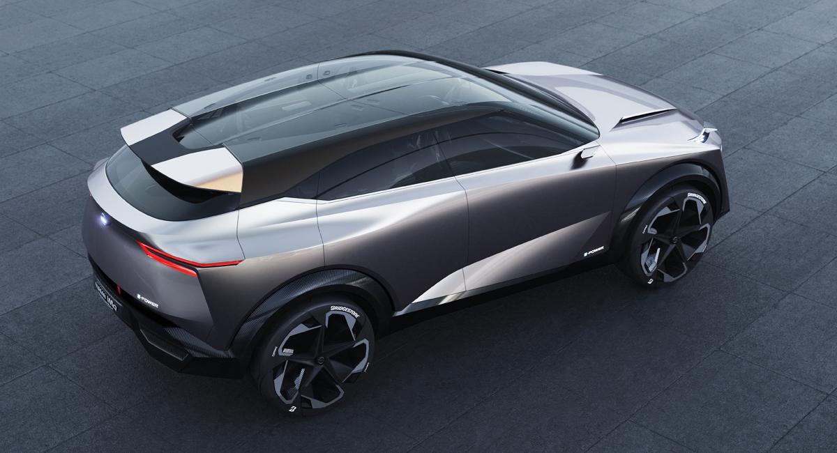 Кроссовер Nissan IMQ намекнул на Qashqai третьего поколения