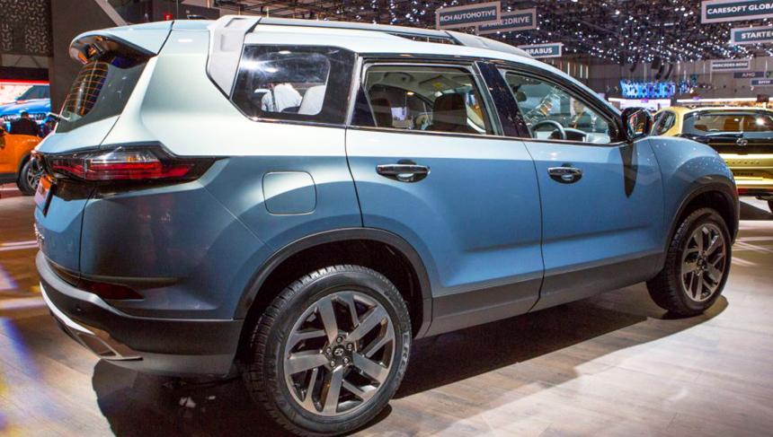 Семиместный кроссовер Tata Buzzard нацелился на экспорт