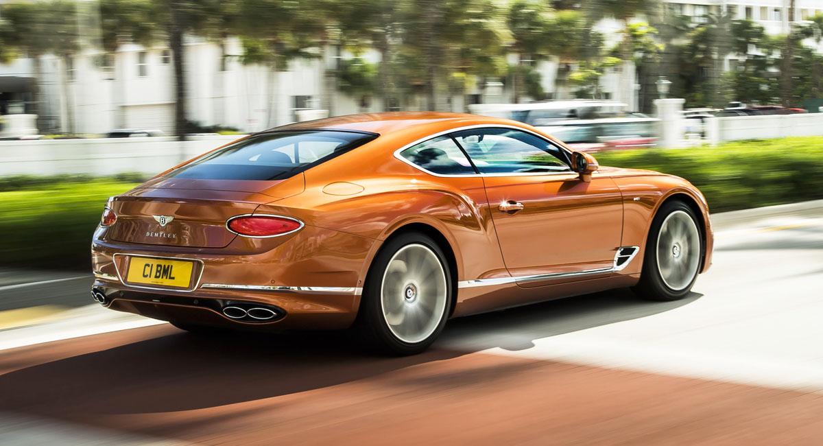 Новый Bentley Continental GT: теперь с мотором V8